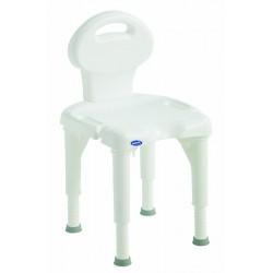 Siège de douche I-Fit en plastique traité large et profonde - 9781E
