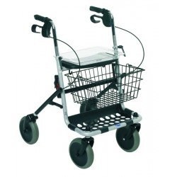 Rollator Banjo 4 roues confortable et maniable - 1452442