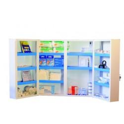 Armoire à Pharmacie métal  avec plusieurs compartiments - 252465