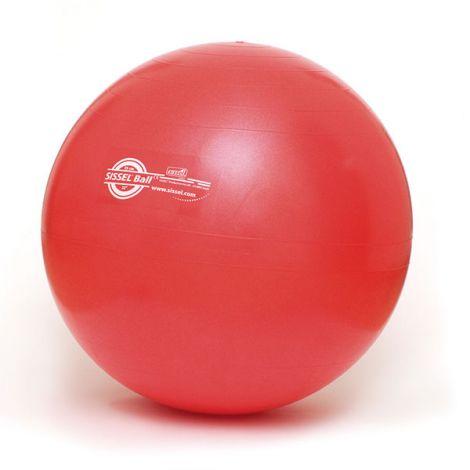 BALLON DE GYMNASTIQUE OU SWISS BALL Rouge 55cm-2257