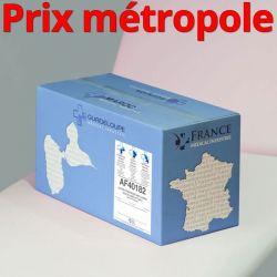 Papier toilette AF40182 MINI JUMBO Ouate recyclée lisse non-traitée WS T180M 2x17g/m² Carton de 9 rouleaux - I351LMR/AF40182/C40