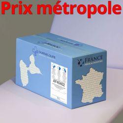 Papier toilette AF40402 MAX JUMBO Ouate recyclée lisse non-traitée WS T320M 2x17g/m² Carton de 6 rouleaux - I367LMR/AF40402/C400