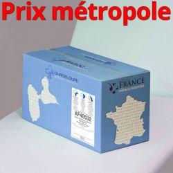 Papier toilette AF40532 Compact Ouate recyclée lisse non-traitée WS T500 2x17g/m² Carton de 24 rouleaux - I232LFM/AF40532/C40055