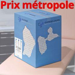 Drap d'examen AT10069 bleu Ouate plastifiée standard T180 34g/m² Carton de 15 rouleaux - J267GSM/AT10069/C619001