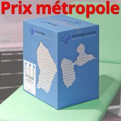 Drap d'examen AT10192 bleu Ouate plastifiée 200cm T30 34g/m² Carton de 15 rouleaux - J267GSM190/AT10192/C619204