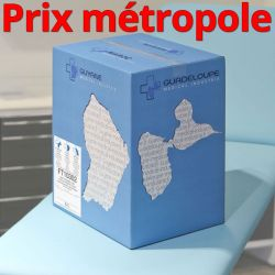 Draps d'examen FT10302 Pure ouate 2 plis 2x20g/m² - Carton de 6 rouleaux - 300 formats - 50x35cm - J417LFM