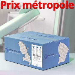 Essuie-mains SF20042 mini EM Pure ouate gaufrée collée T200 2x18g/m² Carton de 15 rouleaux  - H710POT/SF20042/C400509