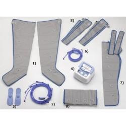 Pressothérapie PRESS 4 Winelec +2bottes +1manchon +ceinture-PRESS4/F