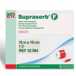 Pansement film polyuréthane Suprasorb®F 15cmx10m Rouleau -82064