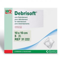 Compresse pour détersion Debrisoft®F 10x10cm Boite de 5-31222