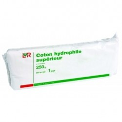 Coton 250 grammes coton hydrophyle chirurgical - 81071