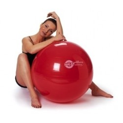 BALLON DE GYMNASTIQUE SWISS BALL SISSEL BALL ROUGE 75 CM-2285