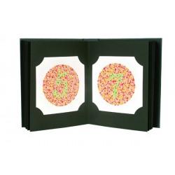 Album test d'Ishihara Dimension 195 x 150 x 36 38 Planches dans un etuis blanc - 3280000
