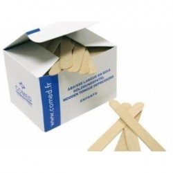 Abaisse-langue Enfant Dimensions 114 x 14 x 1,6 mm boite de 250 pièces - 2510600