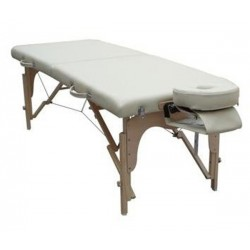 "Table de massage ""WOOD"" pliable à hauteur variable de 60 à 79 cm - WOOD"