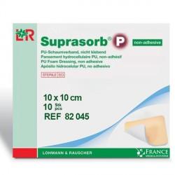 Pansement hydrocellulaire non adhésif Suprasorb® P 10x10cm Boite de 10 - 82045