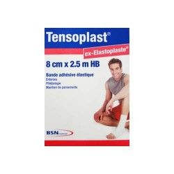 Bande de Contention Tensoplast® Dimension 2,5 m x 8 cm - 7205083