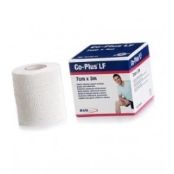Bande Co-Plus® sans latex Blanc 3 m x 7 cm - 72100-48