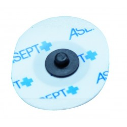 Electrode prégélifiée  mousse Ovale 35 x 27mm 1 sachet de 60 - 250553