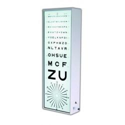 Echelles Optométriques lumineuses Pour test stéréo référence T26 - ETFL